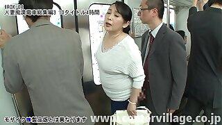 人妻痴漢電車総集編 3 10タイトル4時間
