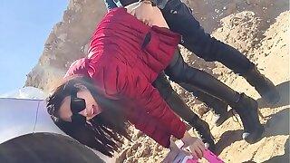 Amateur Chinese Fetish Slut Fuck in the Public  HD Porn 45