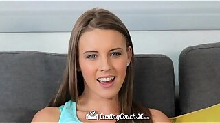 CastingCouch-X - Beautiful Lia Ezra with natural tits tries out for porn