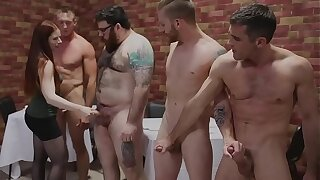 Leila Hazlett Pie Shop Gang Bang w Lance Hart Sebastian Keys Pierce Paris