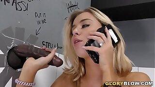 Cheating Haley Reed Fucks Black Dick - Gloryhole