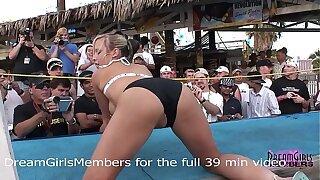 Normal Spring Break Bikini Contest Turns Into Wild Freaky Sex Show