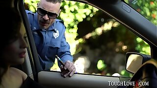 TOUGHLOVEX Latina Liv Wild fucks her way out of jail