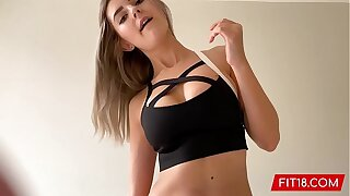 FIT18 - Eva Elfie - 44kg - Casting Shy Young Teen With Big Natural Tits