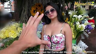 MAMACITAZ - Latina Teen Leidy Silva Goes For Wild Threesome Sex With Two Horny Men
