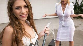 Mom needs her clean car! - Rebel Lynn, Alexis Fawx