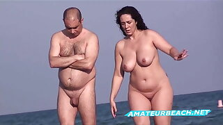 Amateur Nudist Beach Voyeur - Compilation Series Vol. 4