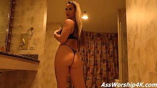Licking Megan Maiden's ass