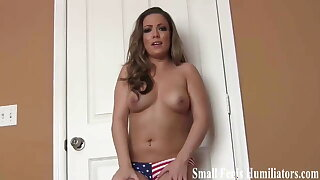 Your tiny penis will never satisfy me SPH
