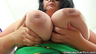 An older woman means fun part 389