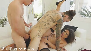 BiPhoria - Wife Catches Husband With Male Lover